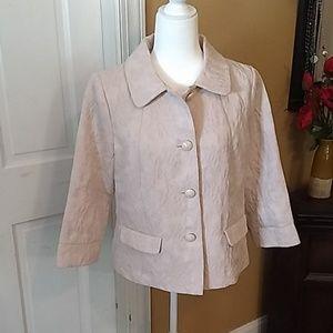 Old Navy Cream Jacket